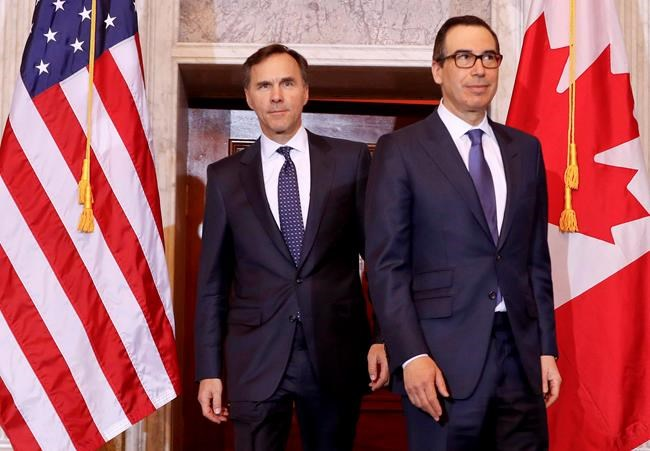 Trudeau ministers gather in Ottawa to meet US Treasury Secretary Steve Mnuchin