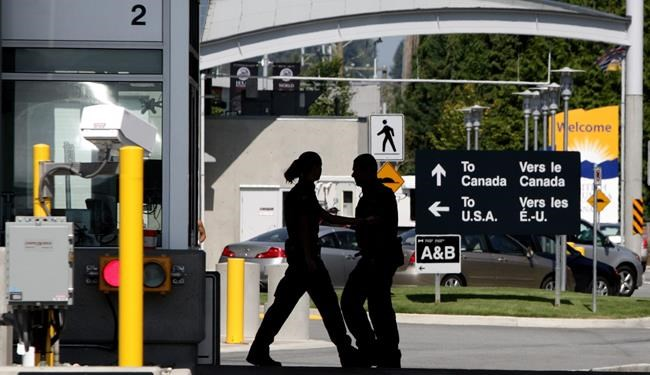 One year after pot became legal in Canada, it's still a tricky issue to cross the U.S. border where marijuana is not legal federally. (Darryl Dyck / The Canadian Press files)
