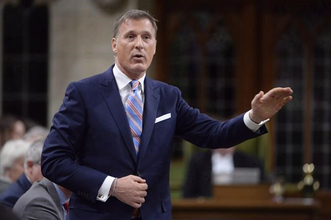 Quebec MP Maxime Bernier has left the Conservative Party of Canada, saying it no longer upholds the fundamentals of conservatism. ADRIAN WYLD / THE CANADIAN PRESS FILES