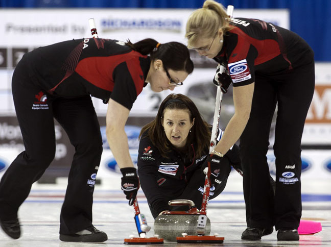 Nedohin skips past U S A  - Winnipeg Free Press