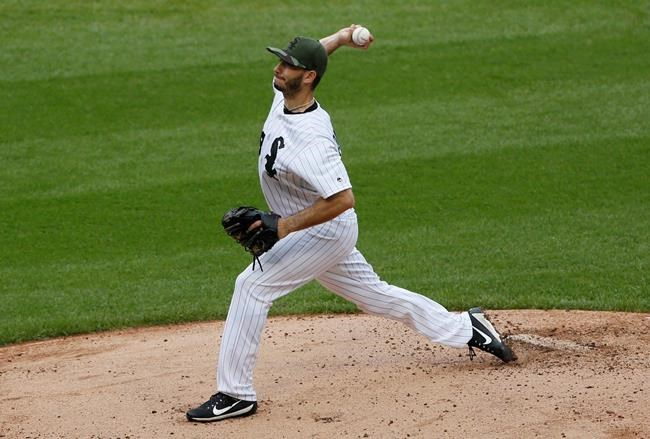 White Sox RHP Gonzalez allows first baserunner in seventh