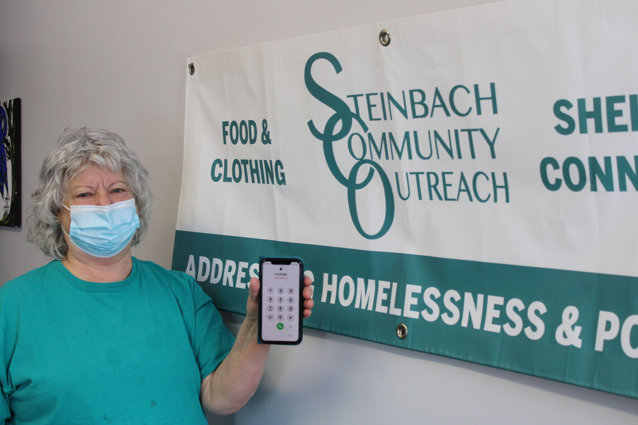 SCO Executive Director Irene Kroeker said used cell phones are needed to allow their clients to access the services they need.