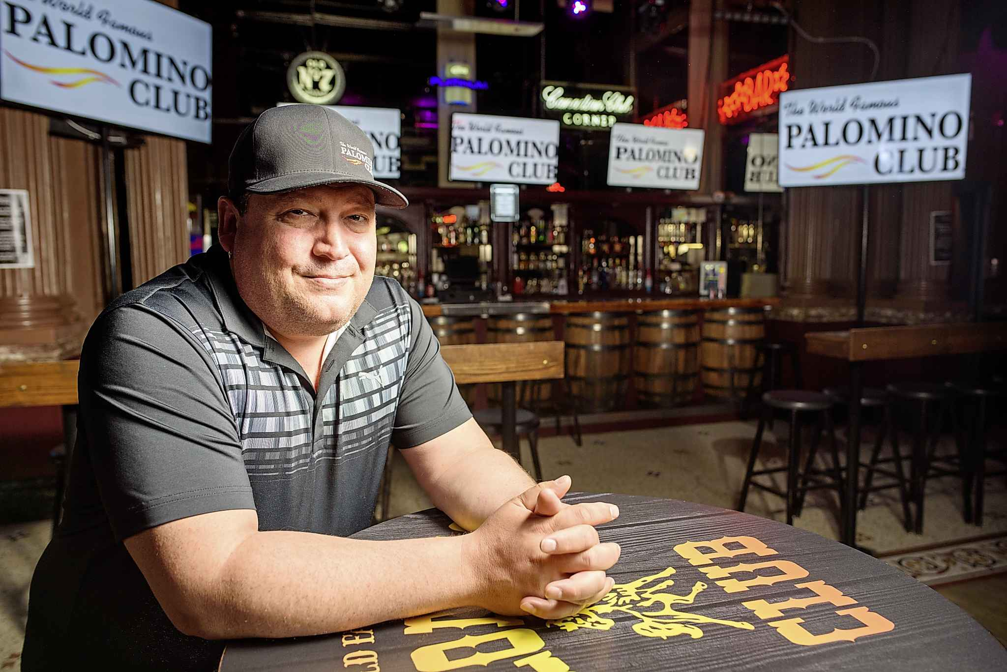 Christian Stringer, owner of the Palomino Club in downtown Winnipeg.
