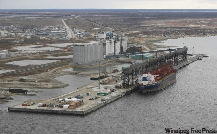 The port of Churchill, Manitoba would see less business were the Canadian Wheat Board's monopoly to end, according to the town's mayor.