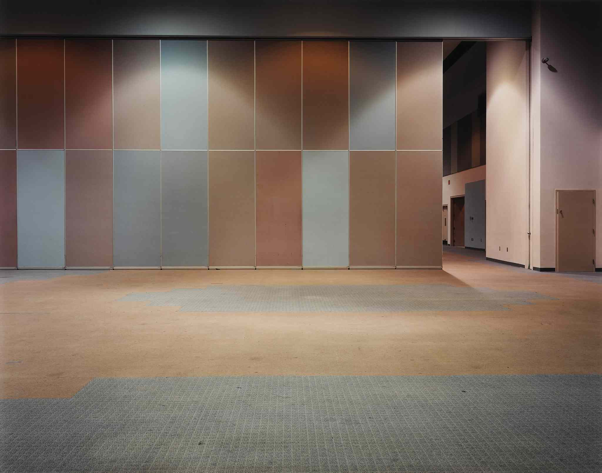 Lynne Cohen, Hall, 1999, dye coupler print, 80.7 x 102 cm. National Gallery of Canada, Ottawa