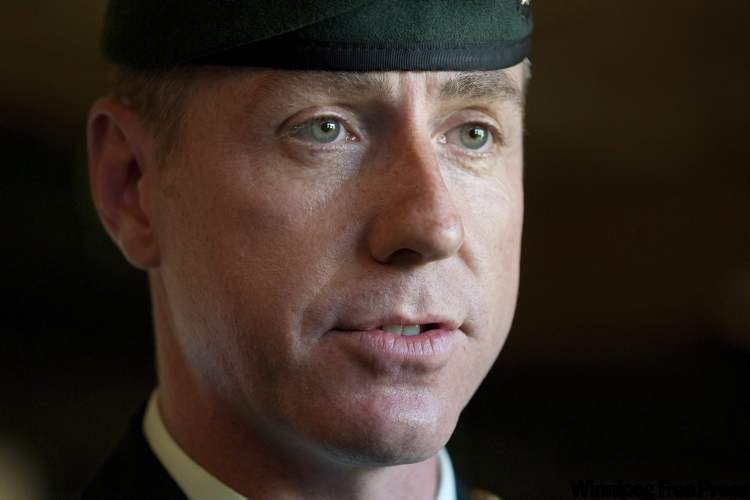 Brig.-Gen. Daniel Ménard is accused of having an affair with a female subordinate while in Afghanistan.
