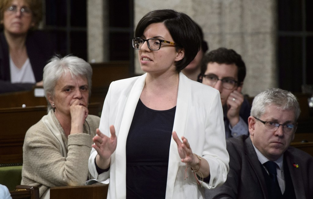 Churchill—Keewatinook Aski MP Niki Ashton has been live-streaming from her home in Thompson, but says MPs in more remote areas might not have the same reliable internet service. (Sean Kilpatrick / The Canadian Press files)