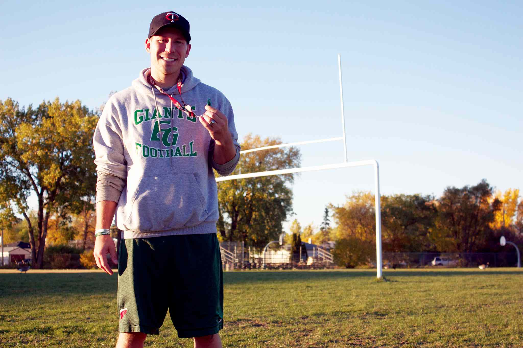 Elmwood Giants defensive co-ordinator Ryan Dueck is fundraising to get a life-changing surgery in Germany.