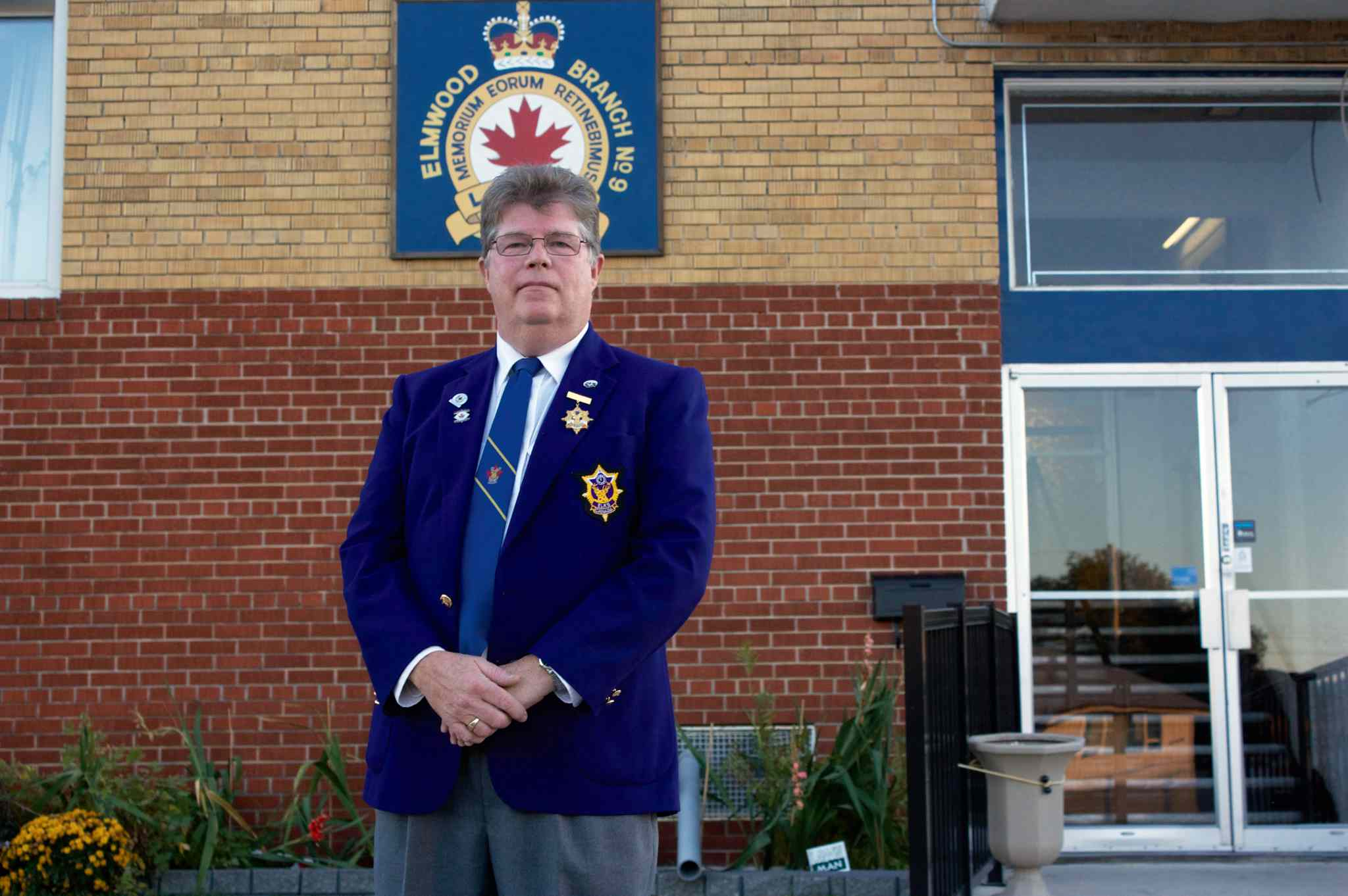 Winnipeg Elks Lodge #10 exalted ruler Bob Palmer is shown at the Royal Canadian Legion's Elmwood No. 9 branch. The Lodge is marking its 100th anniversary with a gala on Oct. 19.