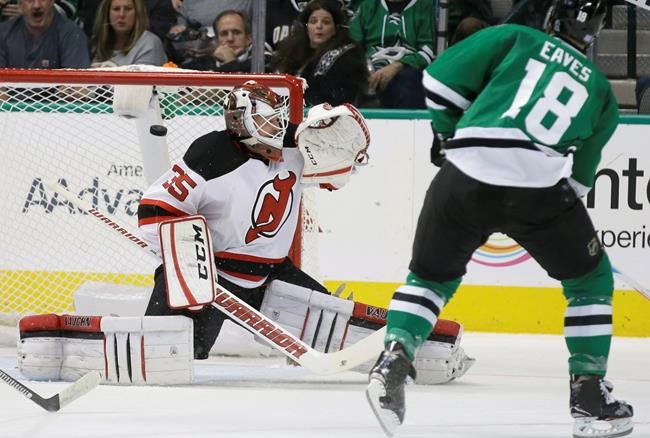 Devils' Hall has knee surgery, out 3-4 weeks