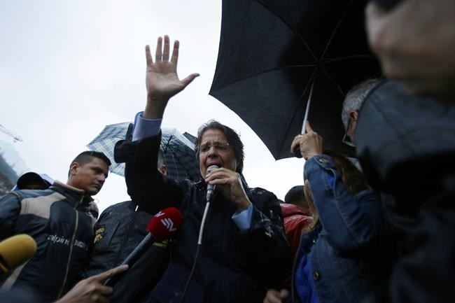 Ecuador opposition candidate challenges election results