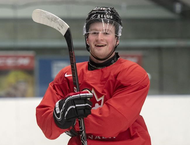 Alexis Lafrenière is the undisputed first-overall draft pick this year. THE CANADIAN PRESS/Ryan Remiorz