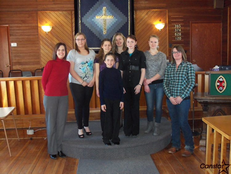 Members of the Dakotah 4-H Equestrian Club are celebrating the 4-H centennial by volunteering their services for 100 hours.