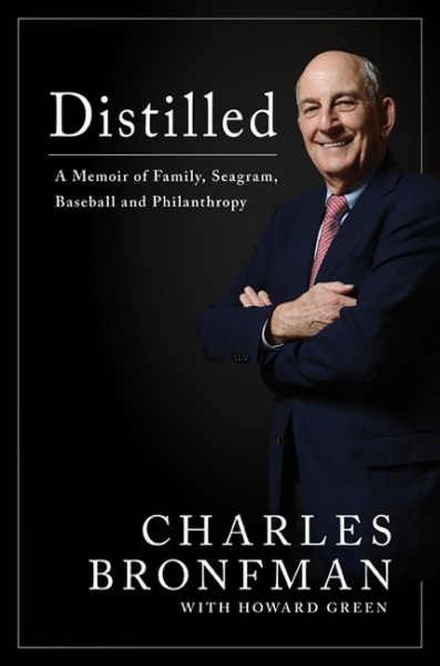 "<h3>Distilled: A Memoir of Family, Seagram, Baseball, and Philanthropy </h3> By Charles Bronfman with Howard Green <br/> Charles Bronfman, one of Canada's most distinguished citizens, has written an inspiring and unusually candid memoir. The now-85-year-old Montreal-born entrepreneurial philanthropist has many innovations to his credit, and the stories behind these innovations make for fascinating reading. He was, for example, the visionary who brought Major League Baseball to Canada as chair of the Montreal Expos. Bronfman has indeed lived a ""wonderful life,"" as he describes it. Readers will enjoy the memoir that recounts his transformation from a ""sickly scrawny basket case"" into a ""contented accomplished man.""   — Brenlee Carrington"
