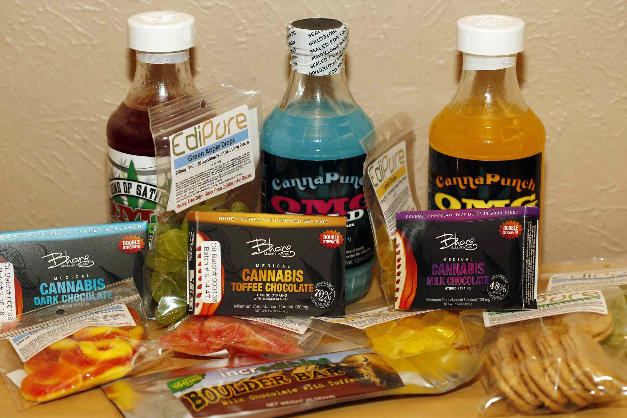 You won't be able to buy commercially produced edibles directly after legalization, but you'll be able to make your own. (AP Photo/Ed Andrieski / The Associated Press files)