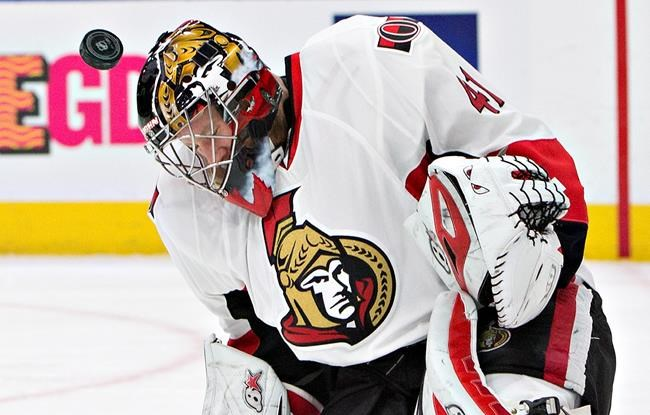 Sens' Anderson gets shutout after wife's cancer diagnosis