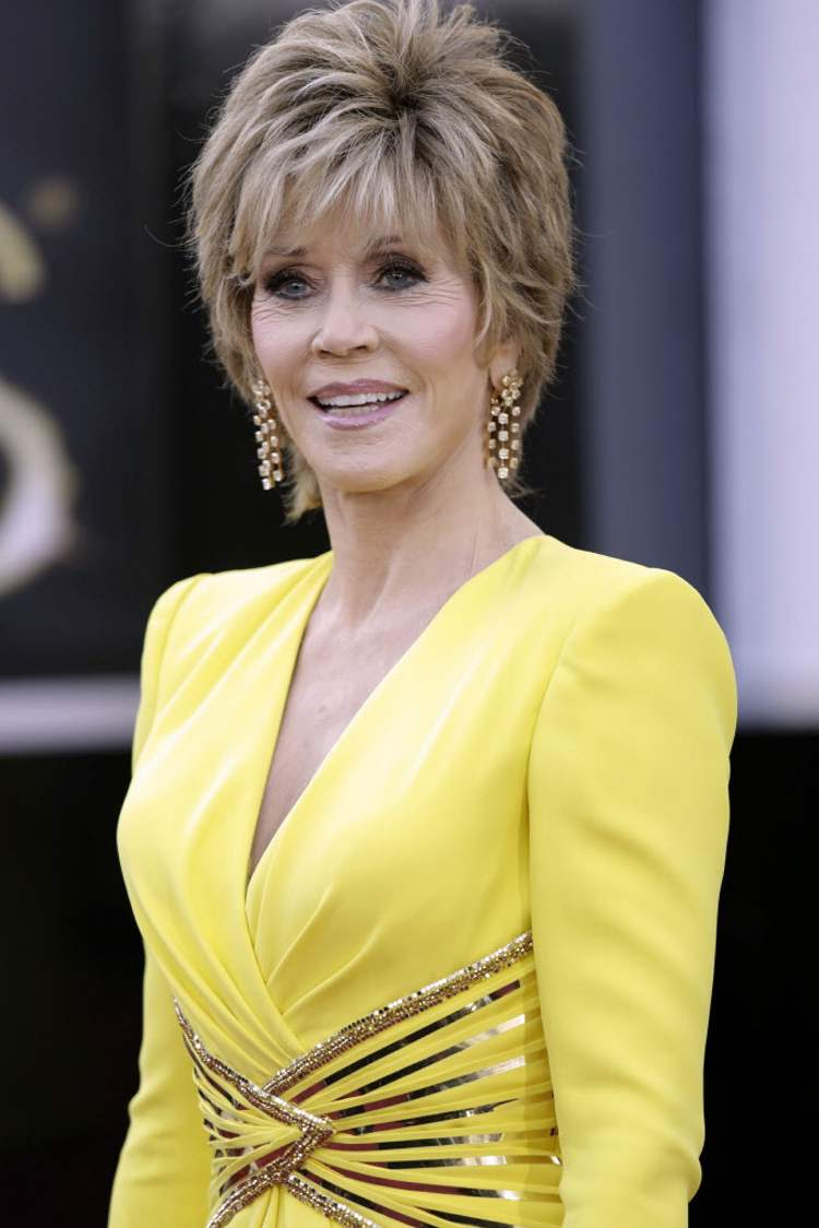 Jane Fonda  (Jay L. Clendenin / Tribune Media MCT)