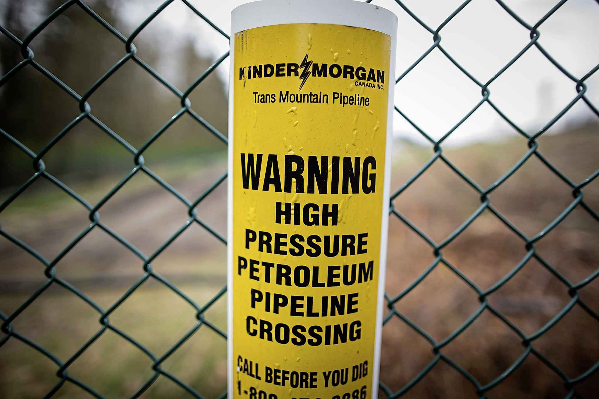 The obstacles to pipeline or power line construction will not be lessened by lumping all the current and potential pipelines and power lines together in a single corridor. (Darryl Dyck / The Canadian Press files)