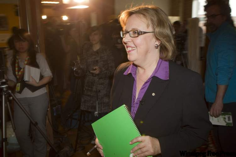 Elizabeth May's campaign strategy suffered a setback when she was excluded from the national debate.
