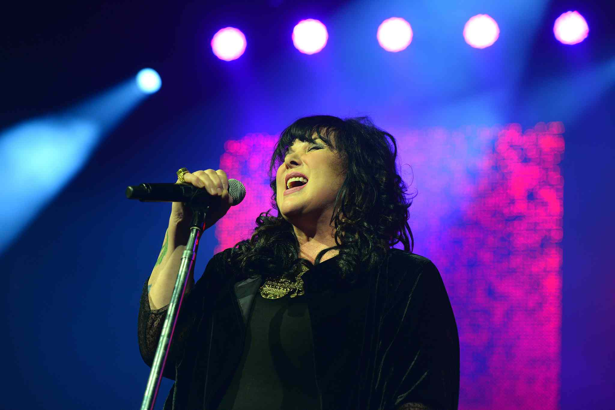 Ann Wilson of Heart performs at the MTS Centre Sunday June 22, 2014.