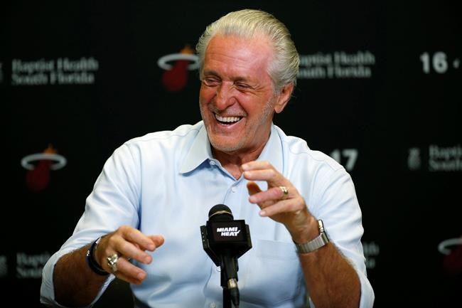 Heat President Pat Riley expresses hope for team's future