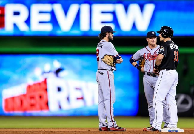 MLB Score: Braves 6, Marlins 3