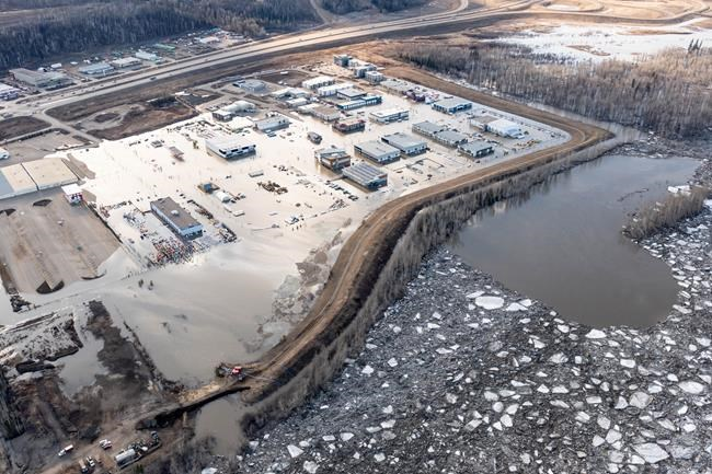 Ice jam that caused flooding in Fort McMurray melting