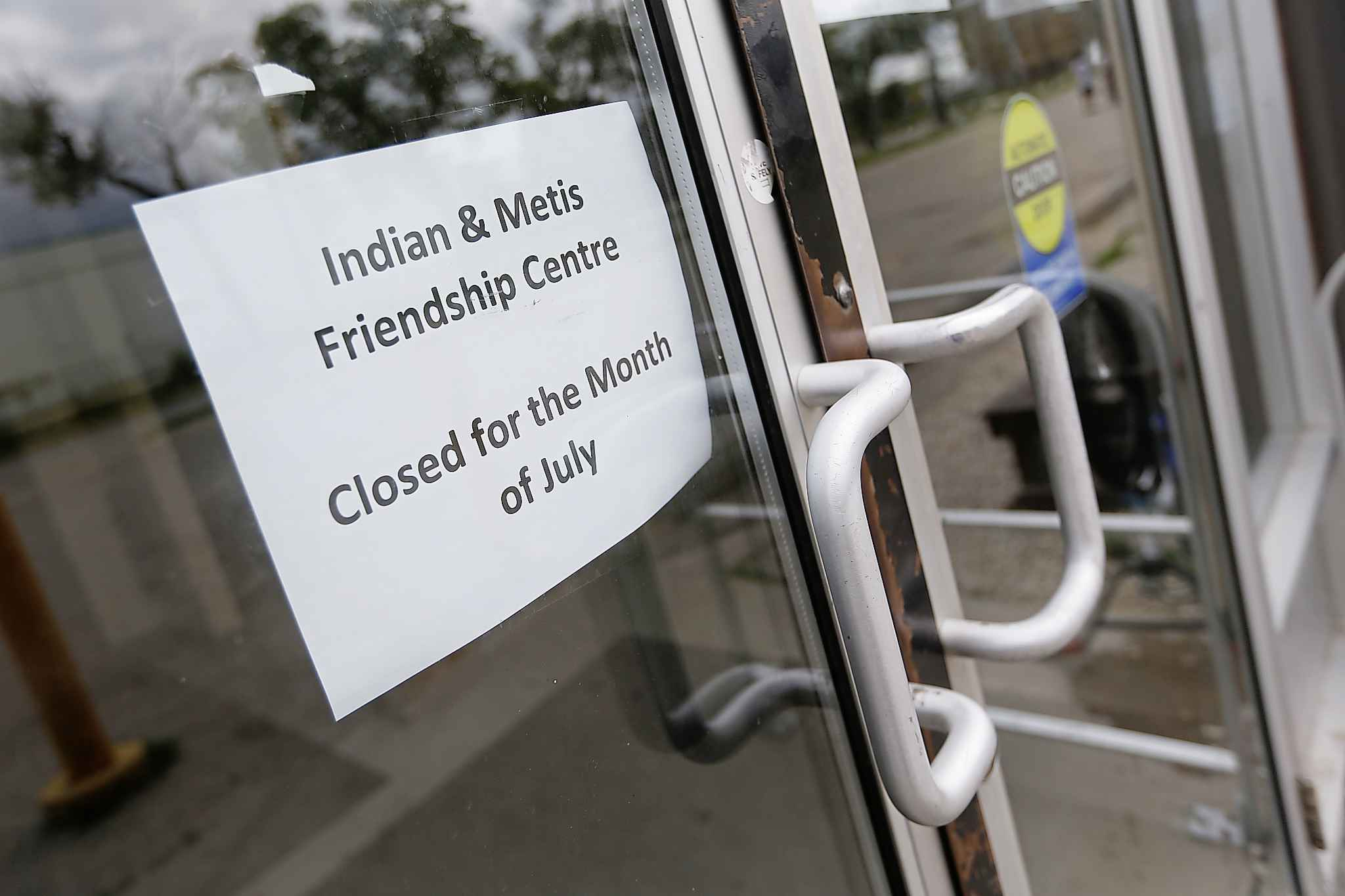 Indian and Metis Friendship Centre closed its doors after having its funding suspended by the Manitoba Association of Friendship Centres in 2017.