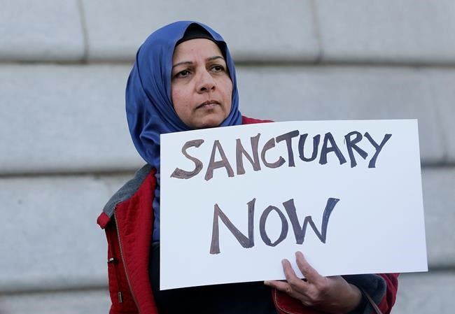 Judge cites Trump's words in blocking 'sanctuary city' order
