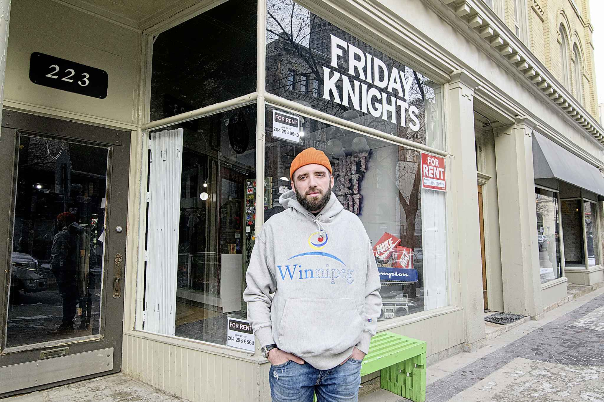 """""""It's a decision I've been wrestling with for the better part of 2019,"""" Eric Olek said shortly after he announced on Instagram that his brand would be moving on. (Mike Sudoma / Winnipeg Free Press)"""