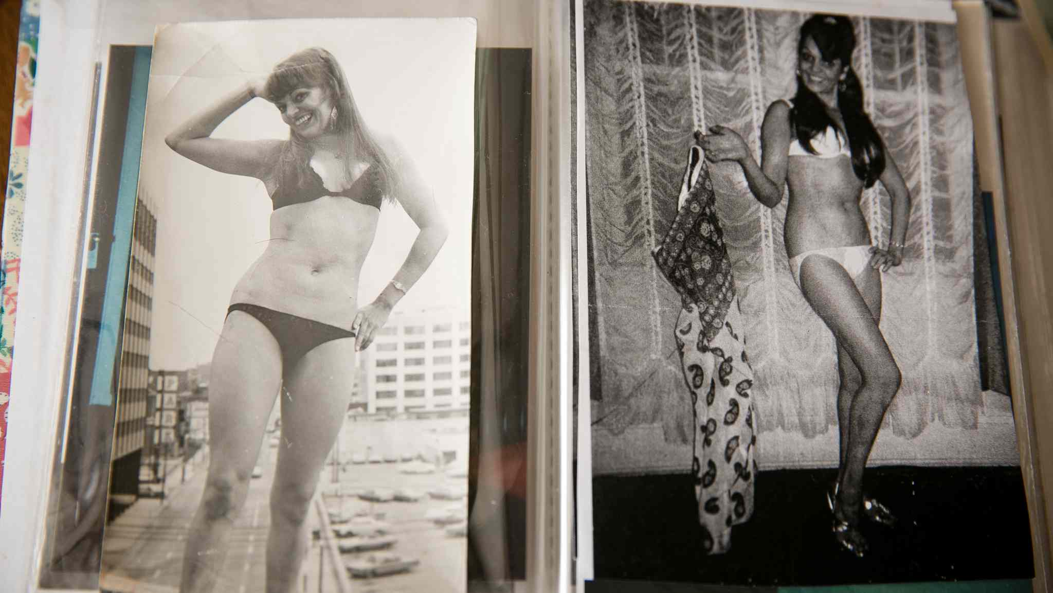 Photos of Gisela Wuensch from her dancing days in decades past.