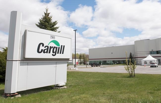 COVID-19 hits another Cargill meat-processing facility in Canada