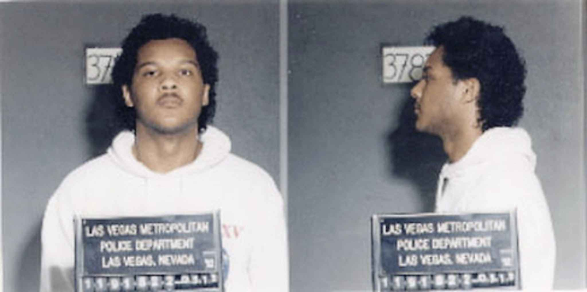 Gary Wayne Gabriel Patterson was arrested on pimping charges in Las Vegas in the early 90s.
