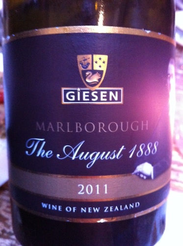 Giesen 2011 The August 1888 Sauvignon Blanc