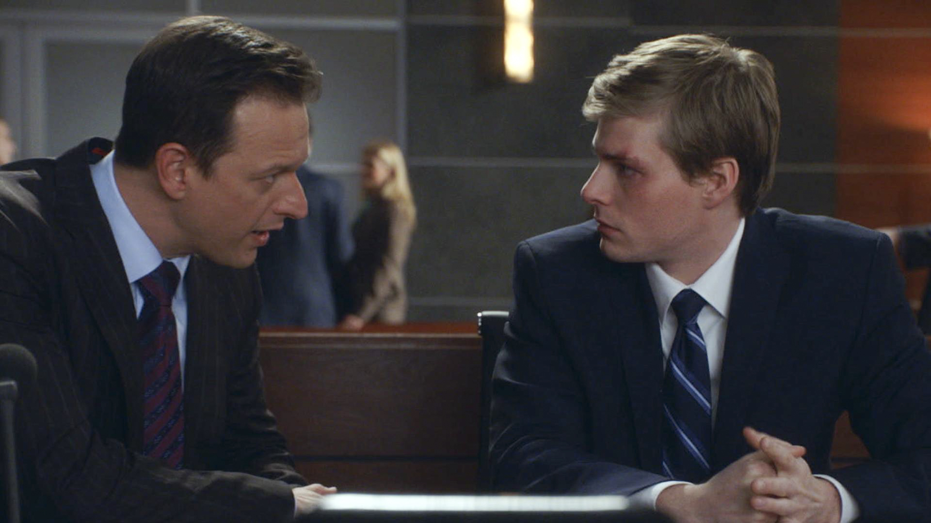 The departure of The Good Wife's Josh Charles, left, with guest star Hunter Parrish, leaves several storylines up in the air.