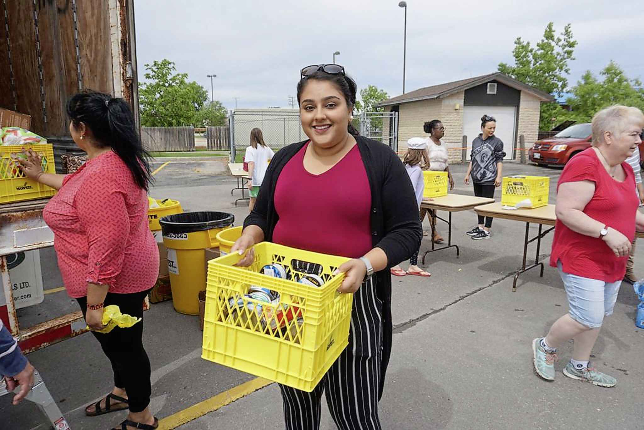 The shelves at Winnipeg Harvest are bit fuller after a record number of donations were collected in a multi-faith food drive in Winnipeg and Selkirk last month. The Church of Jesus Christ of Latter-day Saints and Manitoba Islamic Association teamed up for the drive which ran from June 17-22.