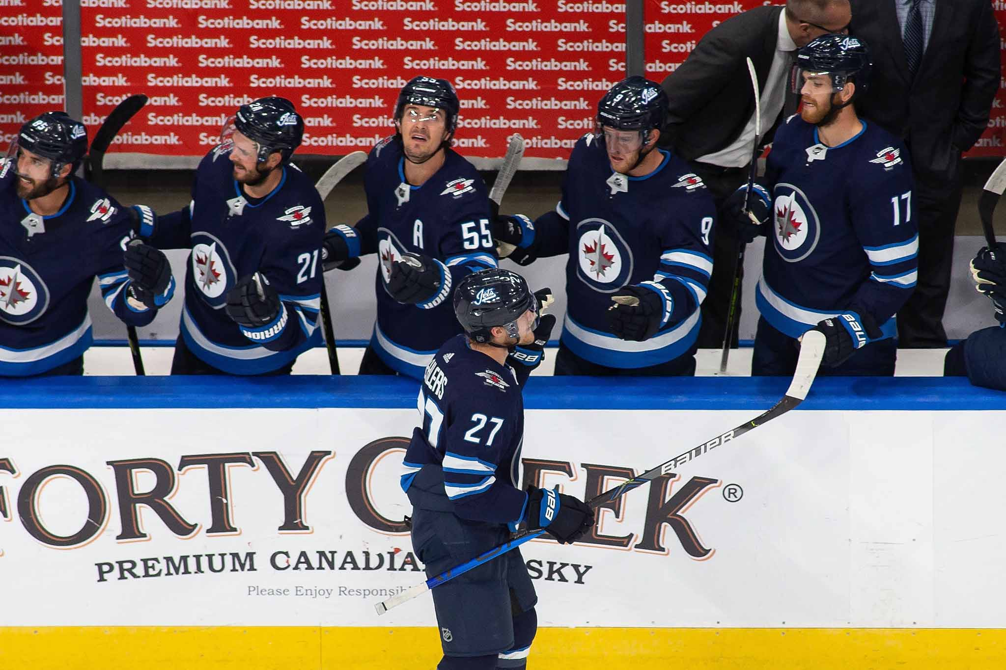 Ehlers has produced 135 goals and 302 points in 413 games over six seasons, reaching the 20-goal mark this year for the fifth consecutive time.