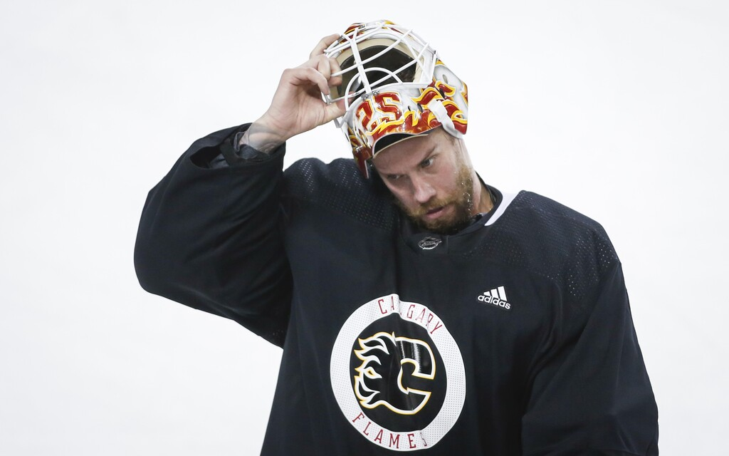 Jacob Markstrom signed a six-year deal with Calgary. (Jeff McIntosh / The Canadian Press files)