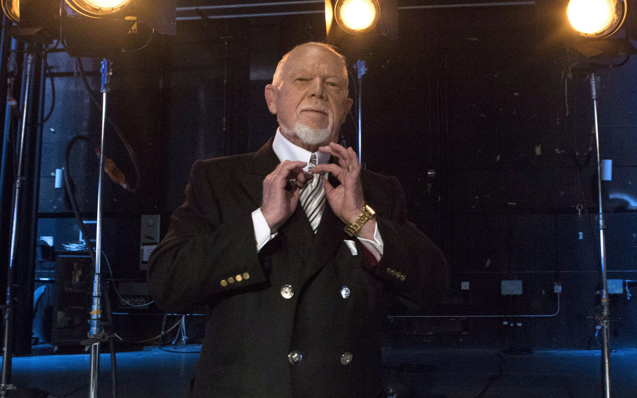Don Cherry has been taken off the air, his bully pulpit finally removed. (Chris Young / Canadian Press files)
