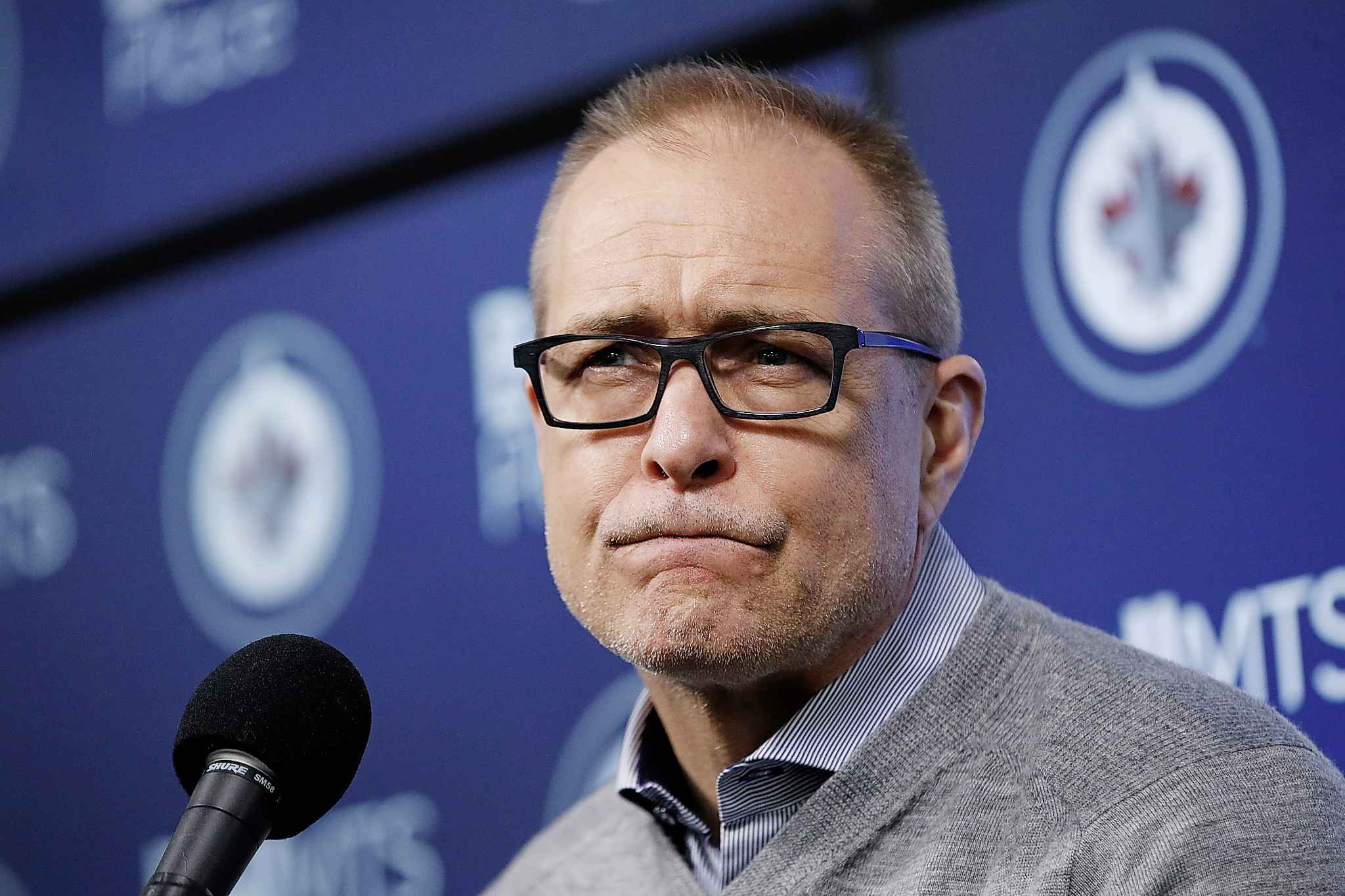 JOHN WOODS / THE CANADIAN PRESS FILES <p/> Is Paul Maurice about to run up against a truism in hockey, that every coach is hired to one day be fired?