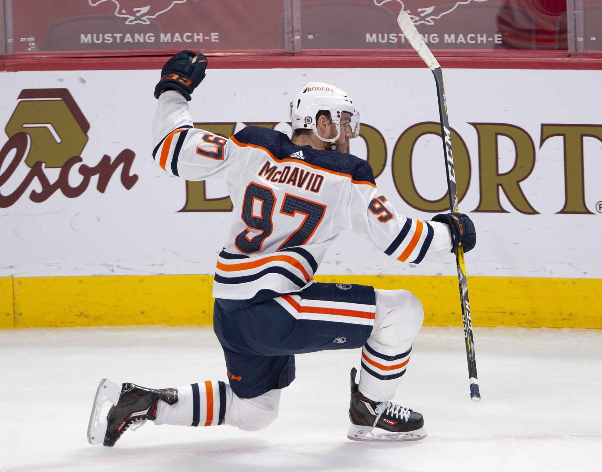 Connor McDavid and the Oilers in seven.