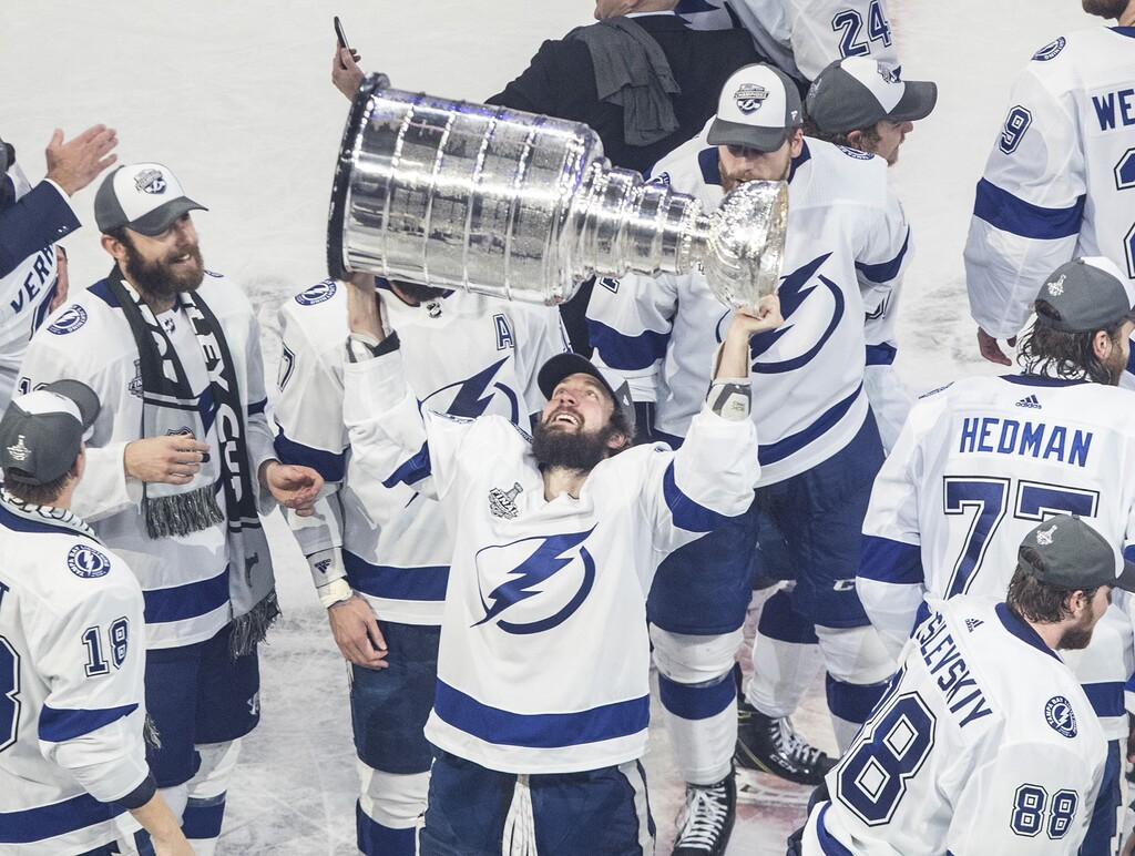 Last season's playoffs were in the bubbles of Edmonton and Toronto, but this season won't offer teams the same protection. (Jason Franson / The Canadian Press files)