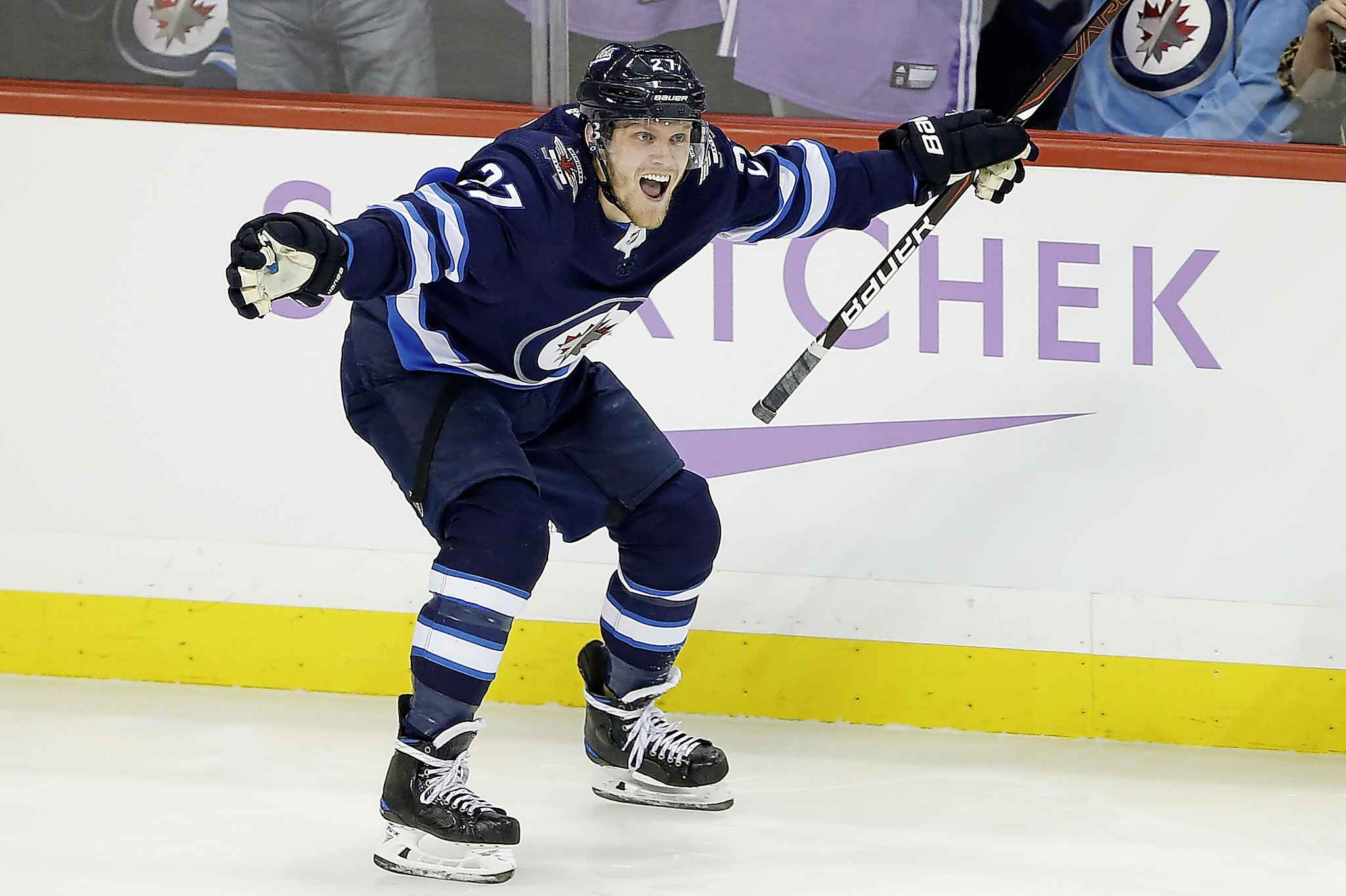 Laine Scores 100th Career Goal, Ehlers Nabs Hat Trick In Jets' 6-5 Win Over Blackhawks