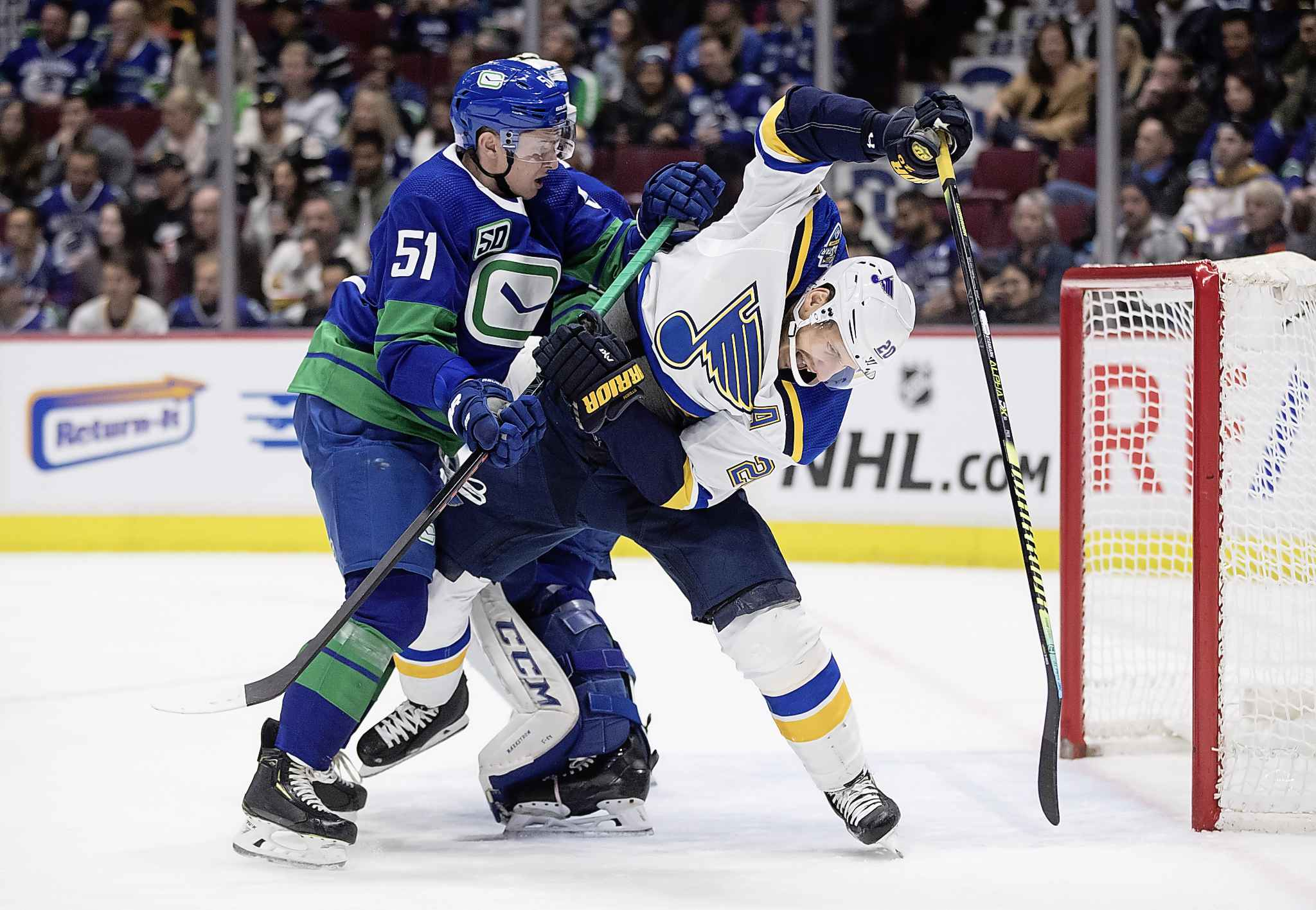 Steen has had 11 seasons with at least 15 goals, scoring a career-high 33 in 2013-14. (Darryl Dyck / The Canadian Press files)