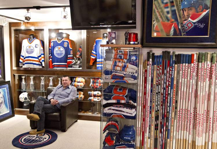 Shawn Chaulk is selling his collection of Wayne Gretzky memorabilia at an upcoming auction. Chaulk began collecting No. 99's stuff almost 20 years ago.