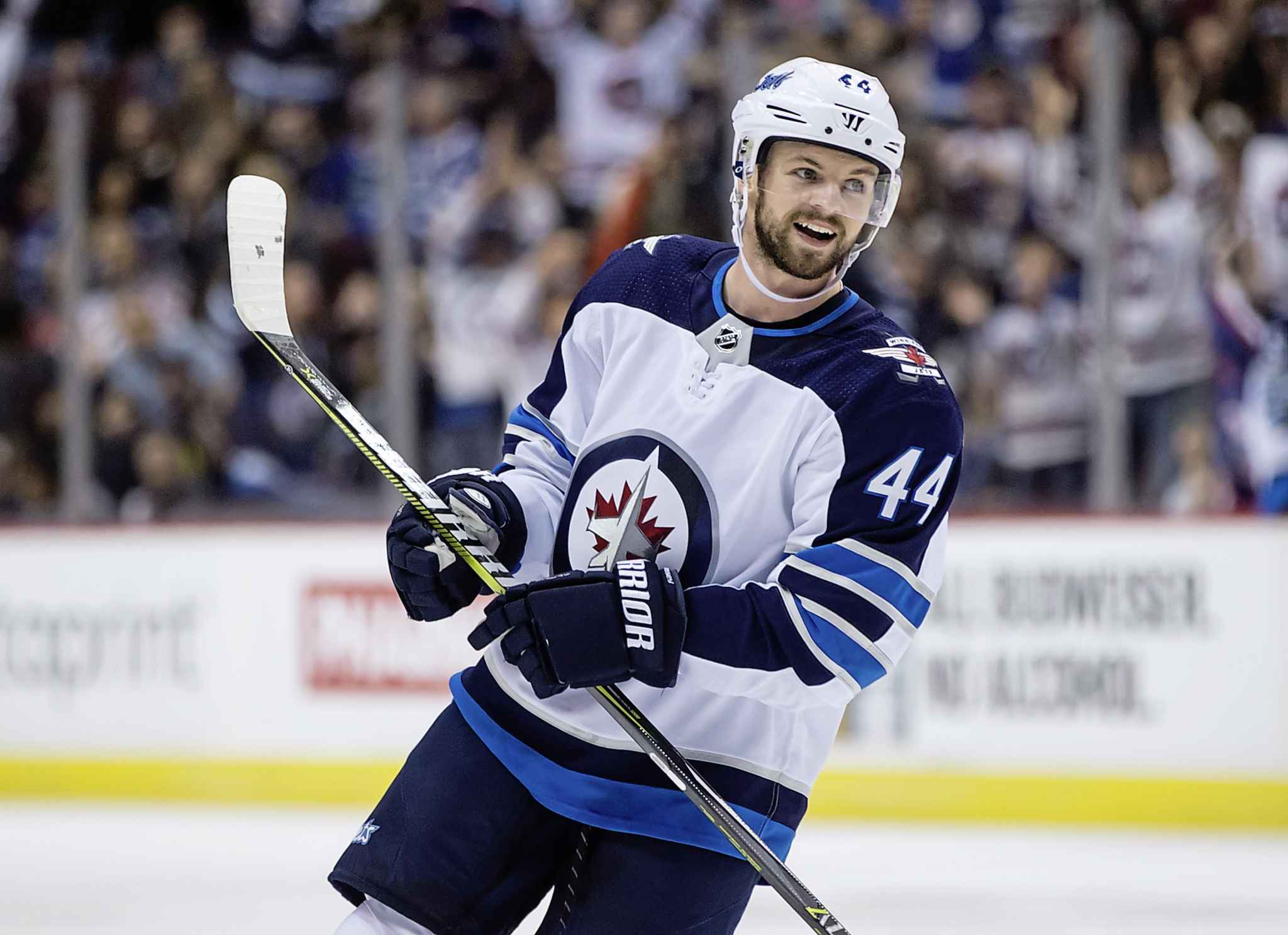 Morrissey had seven goals and 19 assists in 81 regular-season games last season with the Jets. (Darryl Dyck / The Canadian Press files)