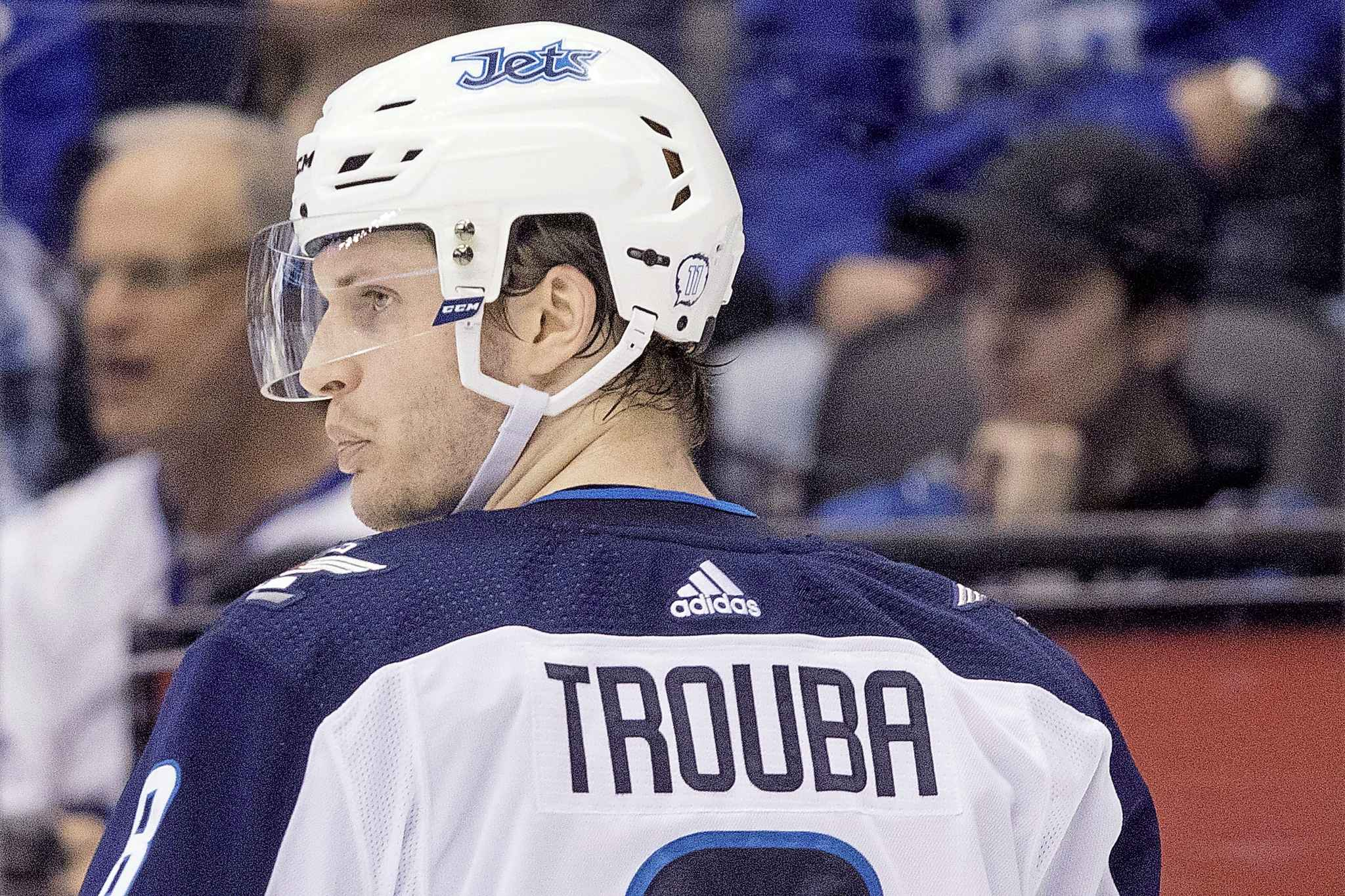 Jacob Trouba should just be honest with Winnipeg Jets' fans and admit he wants out. (Chris Young / The Canadian Press Files)