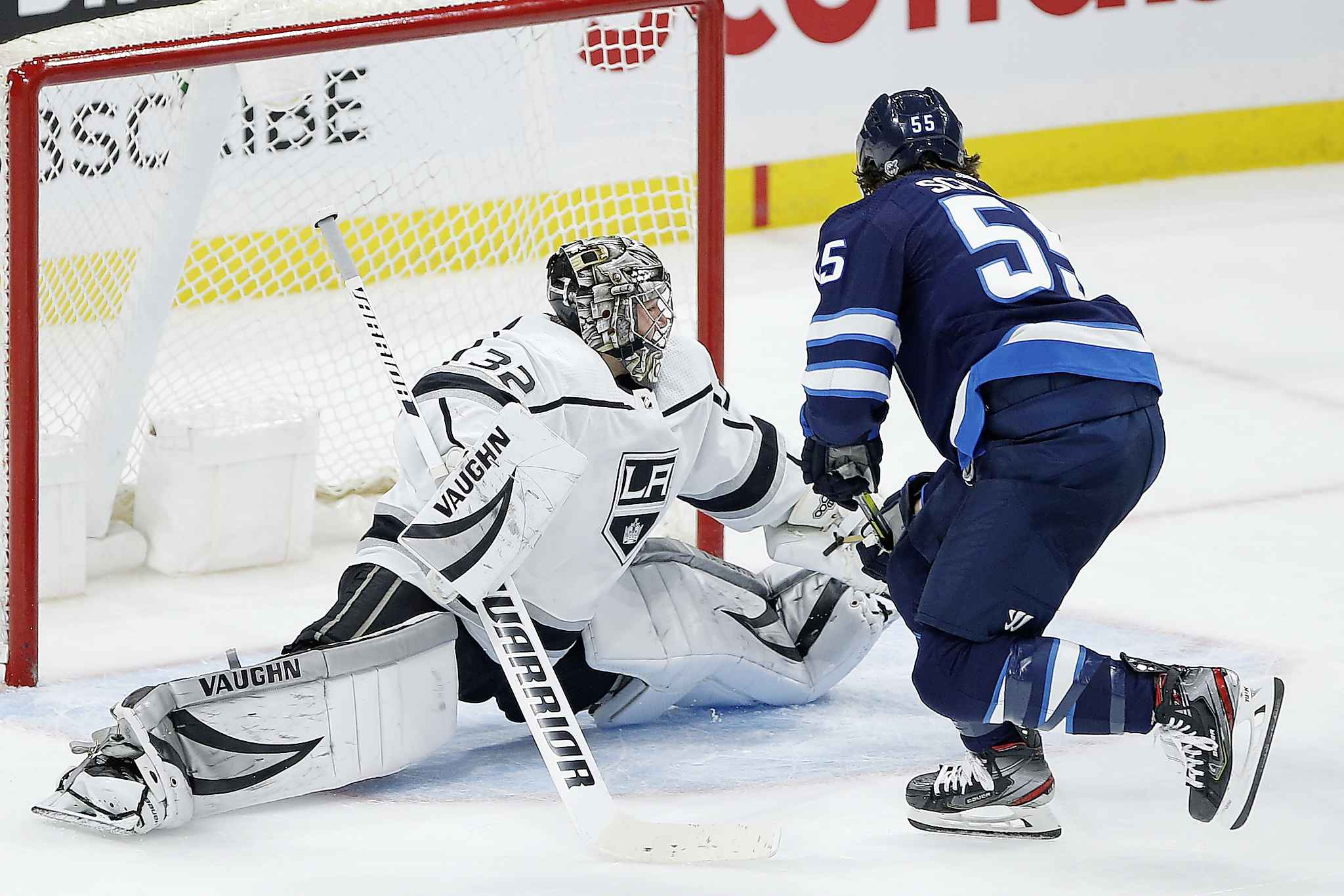 The Jets are coming off an ugly 3-2 loss to Los Angeles. (John Woods / Winnipeg Free Press files)