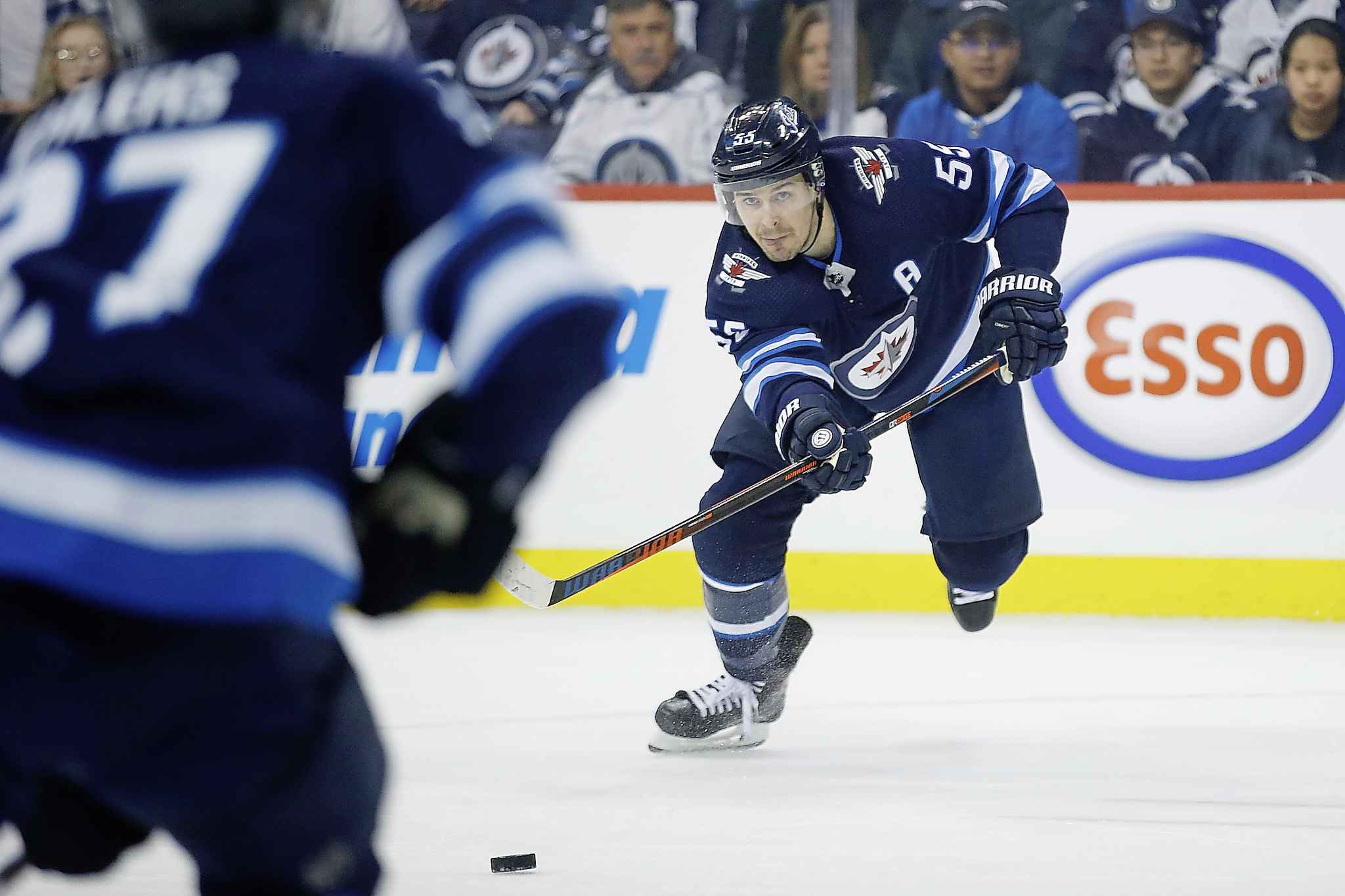 JOHN WOODS / THE CANADIAN PRESS FILES <p /> If the Jets continue their pace, Mark Scheifele simply must be in the conversation for the Hart Trophy.