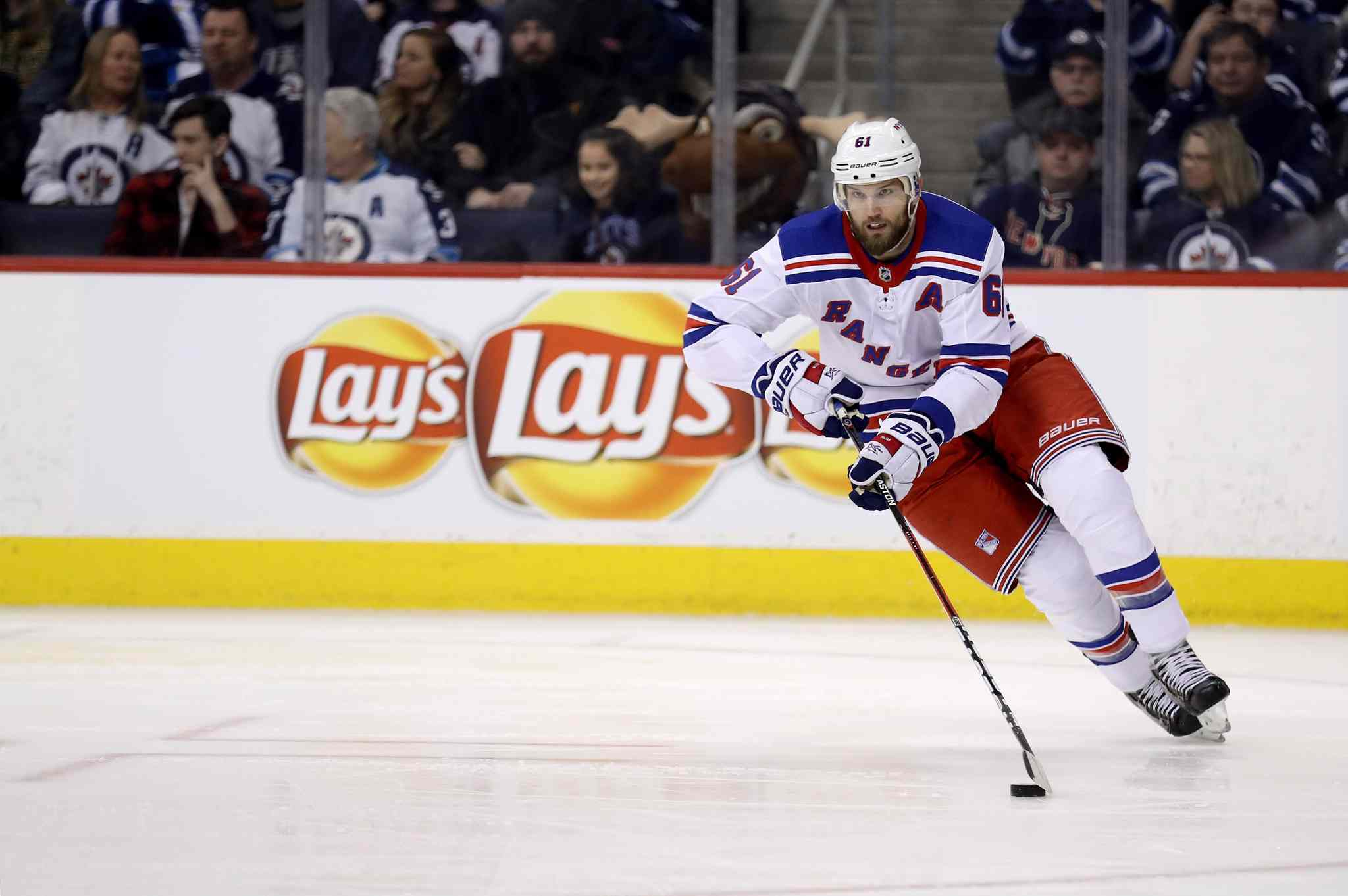 New York Rangers' Rick Nash would be a good fit in Winnipeg.